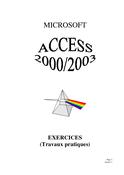 TPs access 2000/2003 première partie