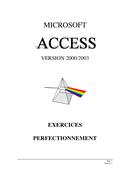 TPs access 2000/2003 deuxième  partie