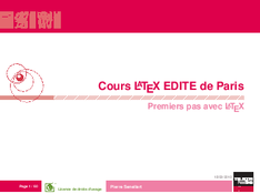 Cours Latex