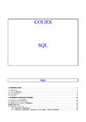 Cours SQL Oracle et PL-SQL