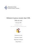 Méthode d'analyse orientée objet UML
