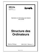 Structure des ordinateurs