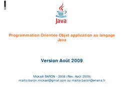 Orientée Objet Java