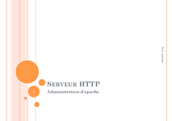 Administration Serveur HTTP