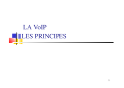 Cours VoIP