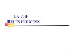 Télécharger cours et exercices gratuit ccna voip en PDF