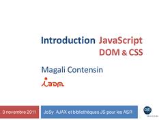 Javascript Dom Et Css Lire Et Telecharger En Pdf
