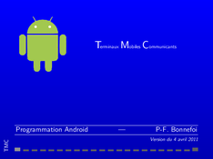 Programmation Android