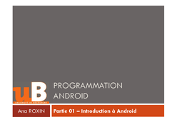 Introduction à Android