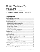 Guide Pratique EDI NetBeans
