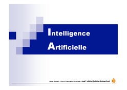 Intelligence Artificielle IA
