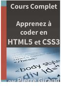 Apprenez à coder en HTML5 et en CSS3