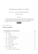 Programmation mobile avec Android