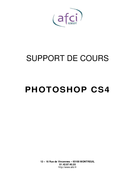 Support de cours Photoshop CS4