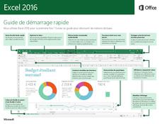 Excel 2016 Guide de démarrage rapide