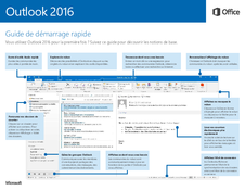 Outlook 2016 Guide de démarrage rapide
