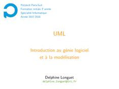 UML: Introduction au génie logiciel et à la modélisation