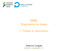 UML: Classes et associations