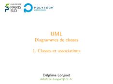 UML: Classes et associations