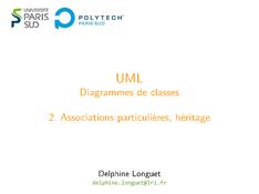 UML: Associations particulières, héritage