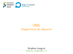 UML: Diagrammes de séquence en conception