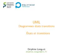 UML: États et transitions