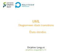 UML: États étendus