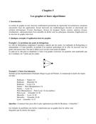 Les graphes et leurs algorithmes
