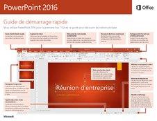 PowerPoint 2016 Guide de démarrage rapide